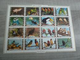 UMM AL QIWAIN - Bloc-Feuillet - Oiseaux - 1 Riyal - Air Mail - Année 1973 - - Umm Al-Qiwain