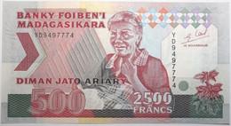 Madagascar - 2500 Francs - 1994 - PICK 72 Ab - NEUF - Madagascar
