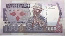 Madagascar - 1000 Francs - 1988 - PICK 72b - NEUF - Madagascar