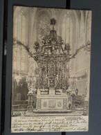 Cpa L'autel De La Ste-Vierge Pendant L'Octave - Luxembourg - 1903 - - Luxemburg - Stad