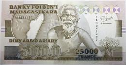 Madagascar - 5000 Francs - 1993 - PICK 74 Aa - NEUF - Madagascar