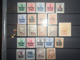 Allemagne Occupation , Lot De 23 Timbres Neuf, Oblitere ( Roumanie ) - Occupazione 1914 – 18