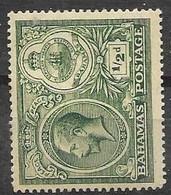 1920 Bahamas Mint Hinged * 2 Euros CA Watermark - 1859-1963 Kolonie Van De Kroon