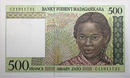 Madagascar - 500 Francs - 1995 - PICK 75b - NEUF - Madagascar