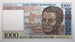 Madagascar - 1000 Francs - 1995 - PICK 76b - NEUF - Madagascar