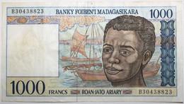 Madagascar - 1000 Francs - 1995 - PICK 76b - TTB+ - Madagascar