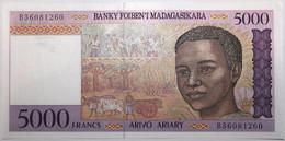 Madagascar - 5000 Francs - 1995 - PICK 78b - NEUF - Madagascar