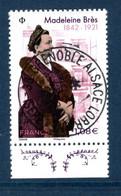France 2021. Madeleine Brès.Première Femme Française Docteur En Médecine.Cachet Rond Gomme D'origine - Used Stamps