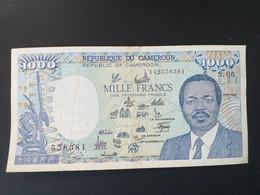 CAMEROUN 1000 Francs 1989.VF - Cameroon