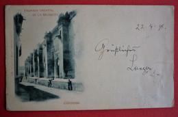 SPAIN - CORDOBA , FACHADA ORIENTAL DA LA MEZQUITA 1898 - Córdoba