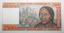 Madagascar - 2500 Francs - 1998 - PICK 81 - NEUF - Madagascar