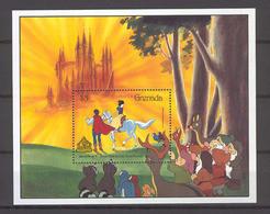 Disney Grenada 1987 Snow White And The Seven Dwarfs MS MNH - Disney