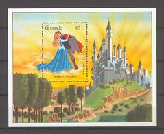 Disney Grenada 1987 Sleeping Beauty MS MNH - Disney