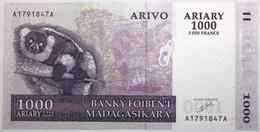 Madagascar - 1000 Ariary - 2004 - PICK 89a - NEUF - Madagascar