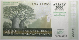 Madagascar - 2000 Ariary - 2007 - PICK 93a - NEUF - Madagascar