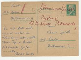 Germany DDR Postal Stationery Postcard Posted 1970 210120 - Postales - Usados