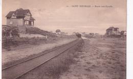 Saint-Idesbald - Route Vers Coxyde - Tram à Vapeur - Stoomtram - Edit. Henri Georges, Bruxelles - Koksijde