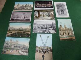 VINTAGE LONDON: London Franco-British Exhibition 1908 X10 Tint B&w - Altri