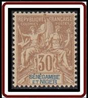 Sénégambie Et Niger - N° 09 (YT) N° 9 (AM) Neuf *. - Nuevos