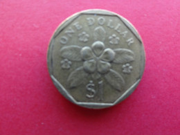 Singapour  1 Dollar  1987  Km 54b - Singapore