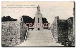 CPA Monument A La Victoire Et Aux Soldats De Verdun Militaria - Verdun