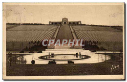CPA Verdun Champs De Balaille Cimetiere American Romagne Sous Montfaucon Militaria - Verdun