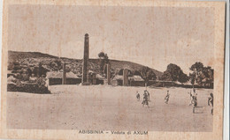 Cartolina - Postcard / Non  Viaggiata - Unsent /  Abissinia, Veduta Di  AXUM. - Etiopia