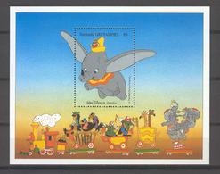 Disney Grenada Gr 1988 Dumbo MS MNH - Disney