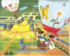 Disney Grenada Gr 1989 PHILEX FRANCE Versailles MS MNH - Disney