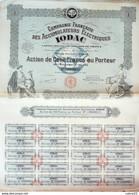 COMPAGNIE FRANCAISE Des ACCUMULATEURS ELECTRIQUES IODAC-ACTION-100 FR-1928 - Elektrizität & Gas