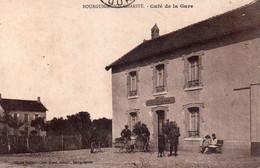 BOURGUIGNON LA CHARITE  Café De La Gare - Andere Gemeenten