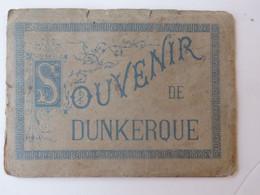 """Carnet De 14 Dessins  """"Souvenir De Dunkerque"""" Maison Universelle Coquillages, Jeux 36, Rue De L'église à Dunkerque (59). - Otros"""