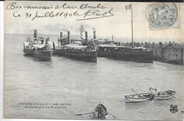CPA 17200 ROYAN : Nouvelle Jetée - Embarcadère Des Paquebots  1906 - Royan