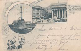 GENOVA - LIGURIA - ITALIA -  CARTOLINE 1898... - Genova (Genoa)