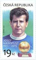 ** 1107 Czech Republic Josef Masopust Anniversary 2021 - Sonstige