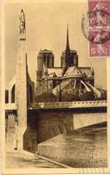 CPA PARIS - NOTRE DAME VUE DU PONT DE LA TOURNELLE - Notre-Dame De Paris