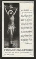 DP. ZUSTER MARGARETA (PRUDENCE LEMAHIEU) ° BRIELEN 1854 + 1924 - Religione & Esoterismo