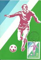 Carte Maximum - Bulgarie - Futebol Football Soccer Coupe 1975 - Cartas