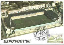 Carte Maximum - France - Futebol Football Soccer Expo Foot 86 - 1980-89