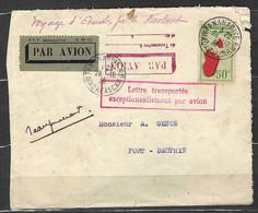 ⭐ Madagascar - Premier Vol - Tananarive Pour Fort Dauphin - Le 28 / 10 / 1936 - Signé Par Le Pilote ⭐ - Airmail