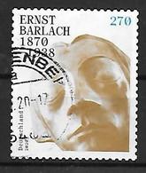 BR Deutschland  2020  Mi 3514  150. Geburtstag Von Ernst Barlach Gestempelt - Gebruikt