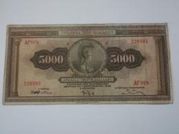 GRECIA 5000 DRACHMAI 1932 - Grecia