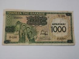 GRECIA 1000 DRACHMAI 1939 - Grecia