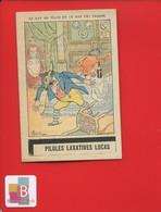 Pilules Laxatives Lucas Chromo Image Illustrateur Bac Fable La Fontaine Rat Villes Champs Anthropomorphisme - Otros