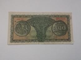 GRECIA 500 DRACHMAI 1950 - Grecia