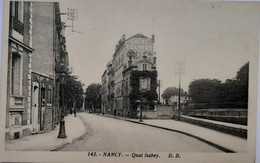 Nancy - Quai - Rue Isabey - Nancy