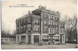 L100H468 - Verdun - 6 Hôtel Terminus, Place De La Gare - Verdun