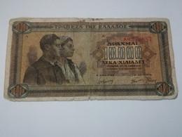GRECIA 10000 DRACHMAI 1942 - Grecia