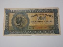 GRECIA 1000 DRACHMAI 1941 - Grecia