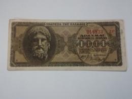 GRECIA 500000 DRACHMAI 1944 - Grecia